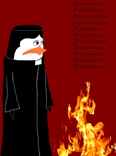 Kowalski as Frollo