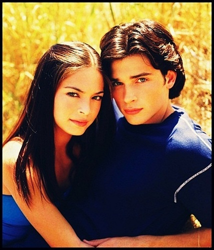 Kristin Kreuk & Tom Welling - smallville Photo