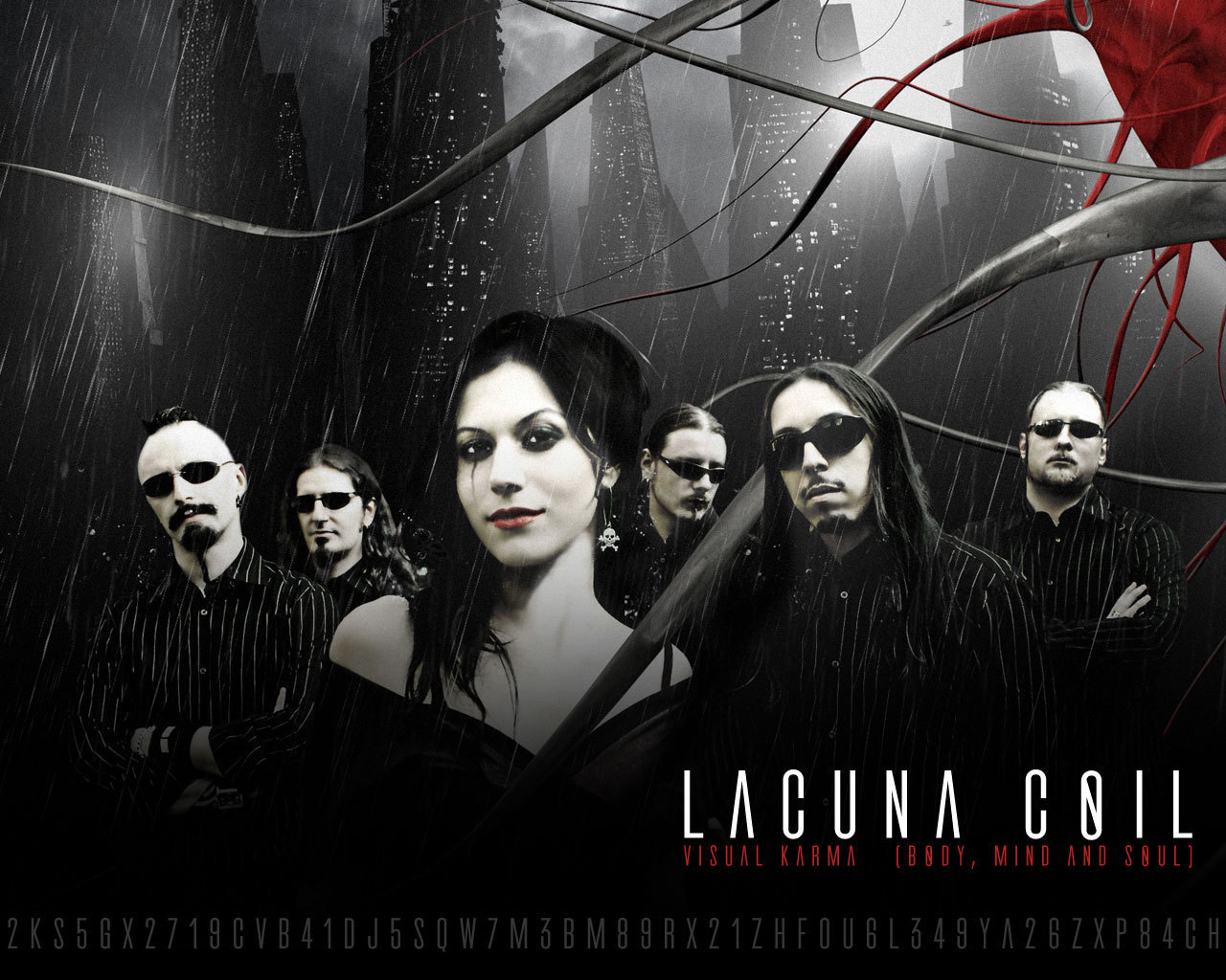 Lacuna Coil - Wallpaper Hot