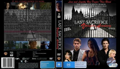 Last Sacrifice Dvd Cover - vampire-academy-series Photo