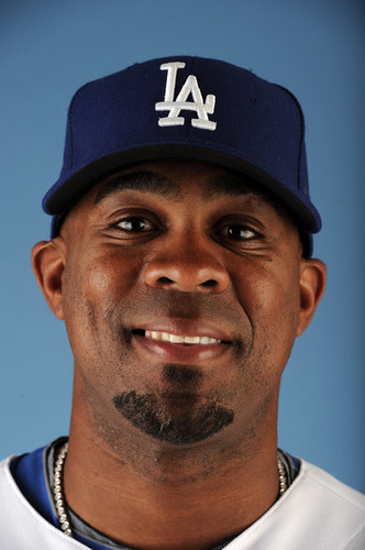 Los Angeles Dodgers Photo Day  (Marcus Thames LF)