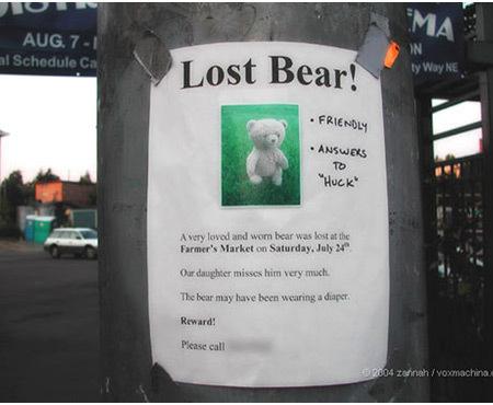 Mất tích & Found Pet Signs