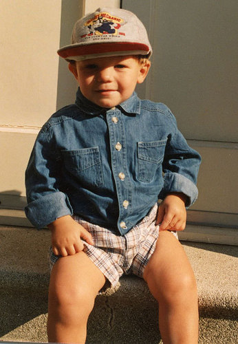 Louis as a baby!