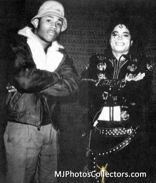 MICHAEL JACKSON AND LL COOL J