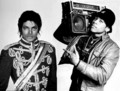 MICHAEL JACKSON AND LL COOL J  - michael-jackson photo