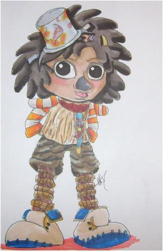 MJ cartoon