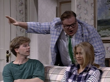 Chris Farley wallpaper possibly containing a portrait titled Matt Foley motivational speaker