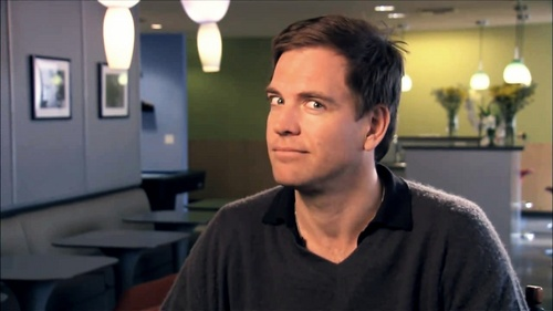 Michael Weatherly wallpaper probably containing a brasserie titled Michael BTS NCIS