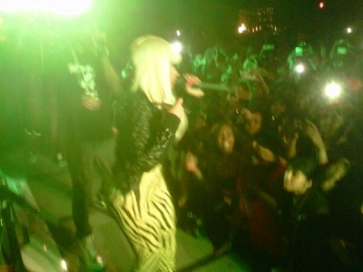 Nicki at CIAA ster Power Saturday - March 5th 2011