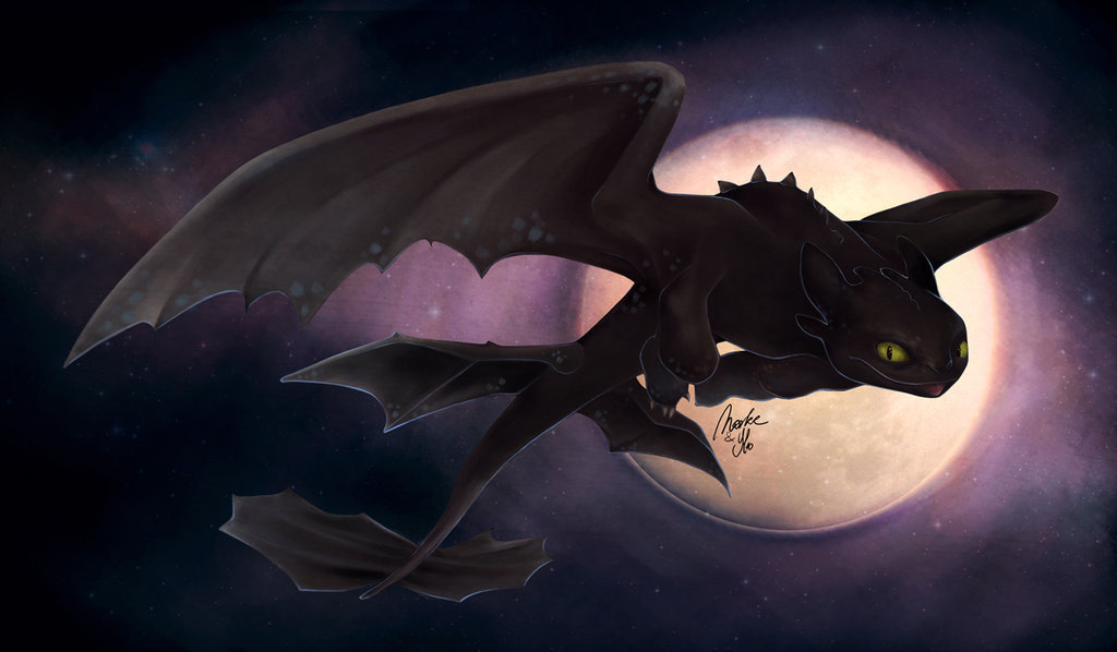 How to Train Your Dragon Night fury