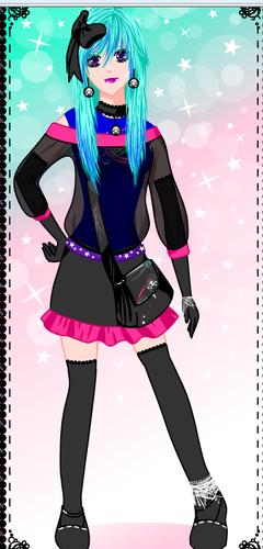 Nikita's human costume