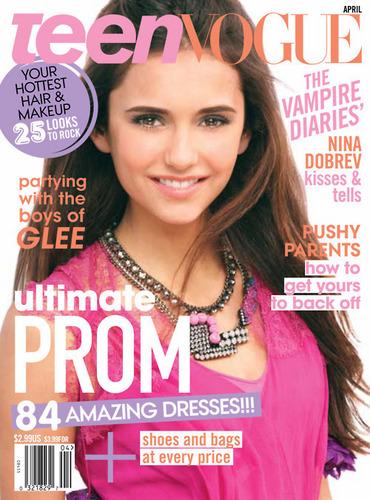 Nina Dobrev Teen Vogue Cover Shoot photos
