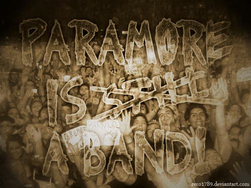 Paramore is still a band!