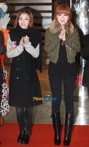 Park Bom and dara