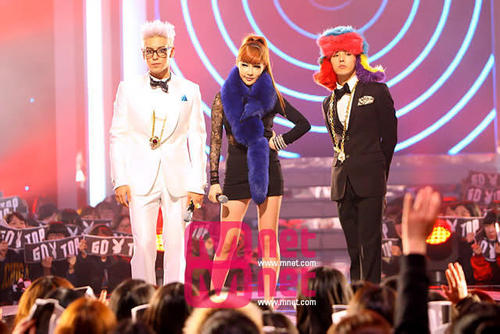 Park Bom with gd and juu