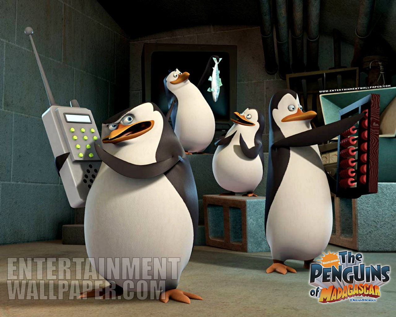 Penguins of Madagascar wallpaper