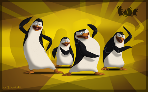 Kool Penguins of Madagascar picture