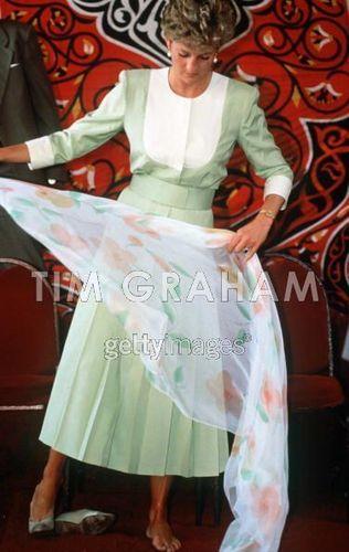 Princess Diana Eygpt