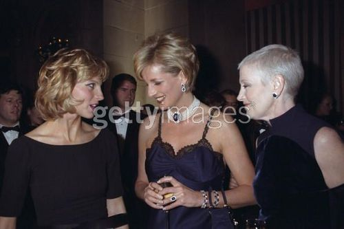 Princess Diana With Her Friend Liz Tilberis