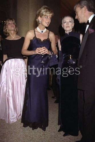 Princess Diana at Costume Institute Gala