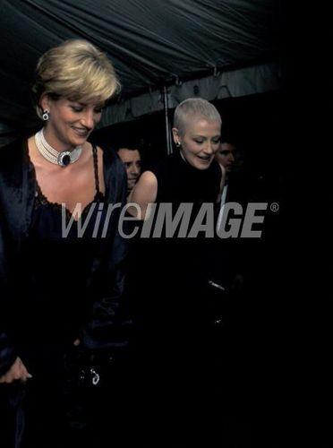 Princess Diana at Costume Institute Gala