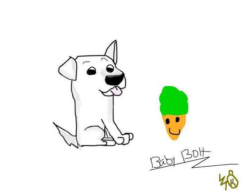 Puppy Bolt number one fanart