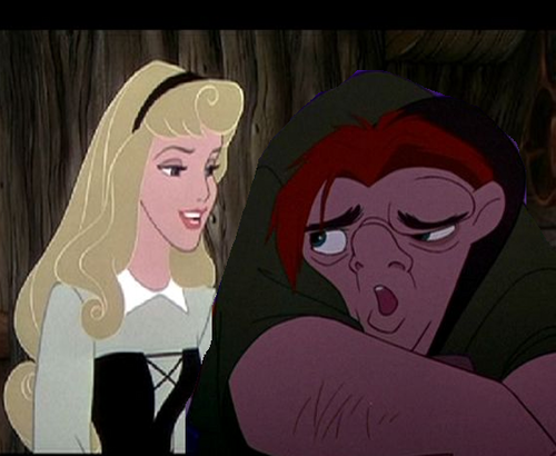Quasimodo and Aurora