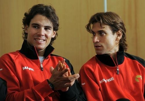 Rafa and David Ferrer perfect hairstyles !!!!!
