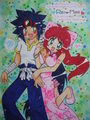 Ray x Mariah - beyblade fan art