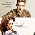 Rob and Kristen quotes - harry-potter-vs-twilight fan art