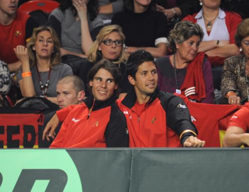 Sexy proximity ín spain Davis Cup team