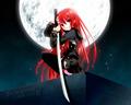 Shana with Blade