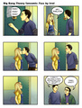 Shenny Comic - penny-and-sheldon fan art