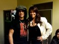 Slash with his wife