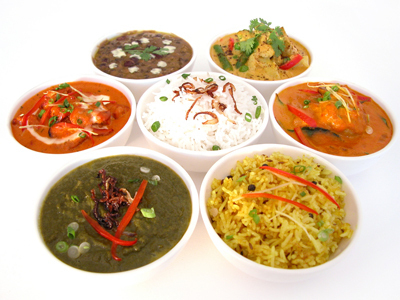 Indian Food wallpaper containing a turkey dinner, a chefs salad, and a holiday dinner called Some indian dishes!
