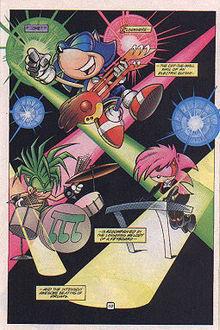 Sonia in Sonic Super Special