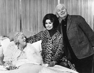 Stringer Davis, Margaret Rutherford and Sophia Loren
