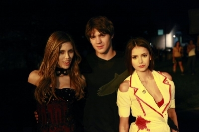 TVD behind the scenes