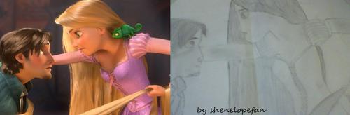 Công chúa tóc mây fanart