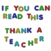 Thank A Teacher - debate icon