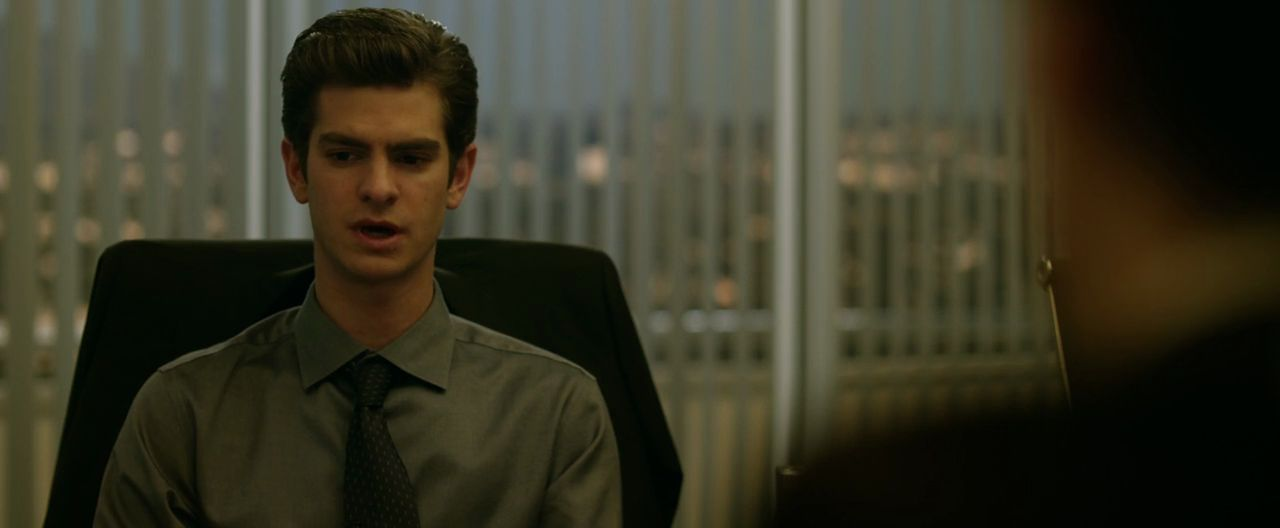 Andrew garfield the social network