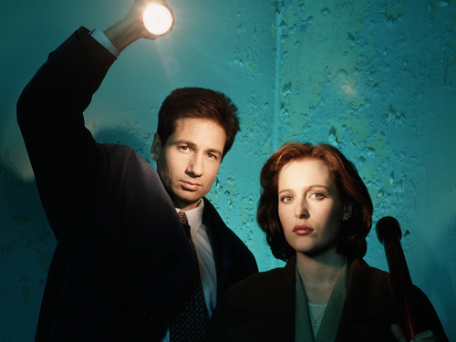 The X-Files wallpaper containing a business suit and a suit titled The X-Files