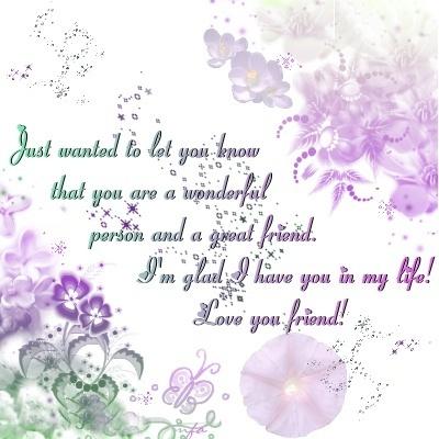 To My Very Dear Friend Susie ♥