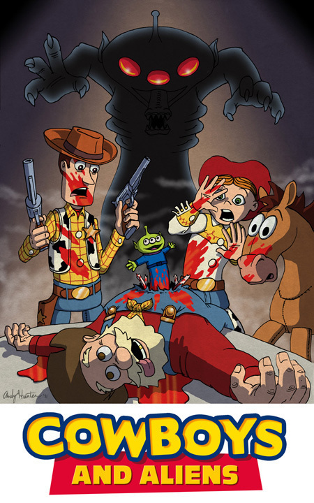 Toy Story / Cowboys and Aliens Mashup