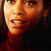Zoë Saldaña as Uhura picha containing a portrait entitled Uhura
