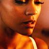 Zoë Saldaña as Uhura picha containing a portrait titled Uhura