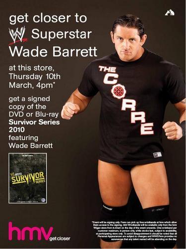 Wade Barrett Appearance