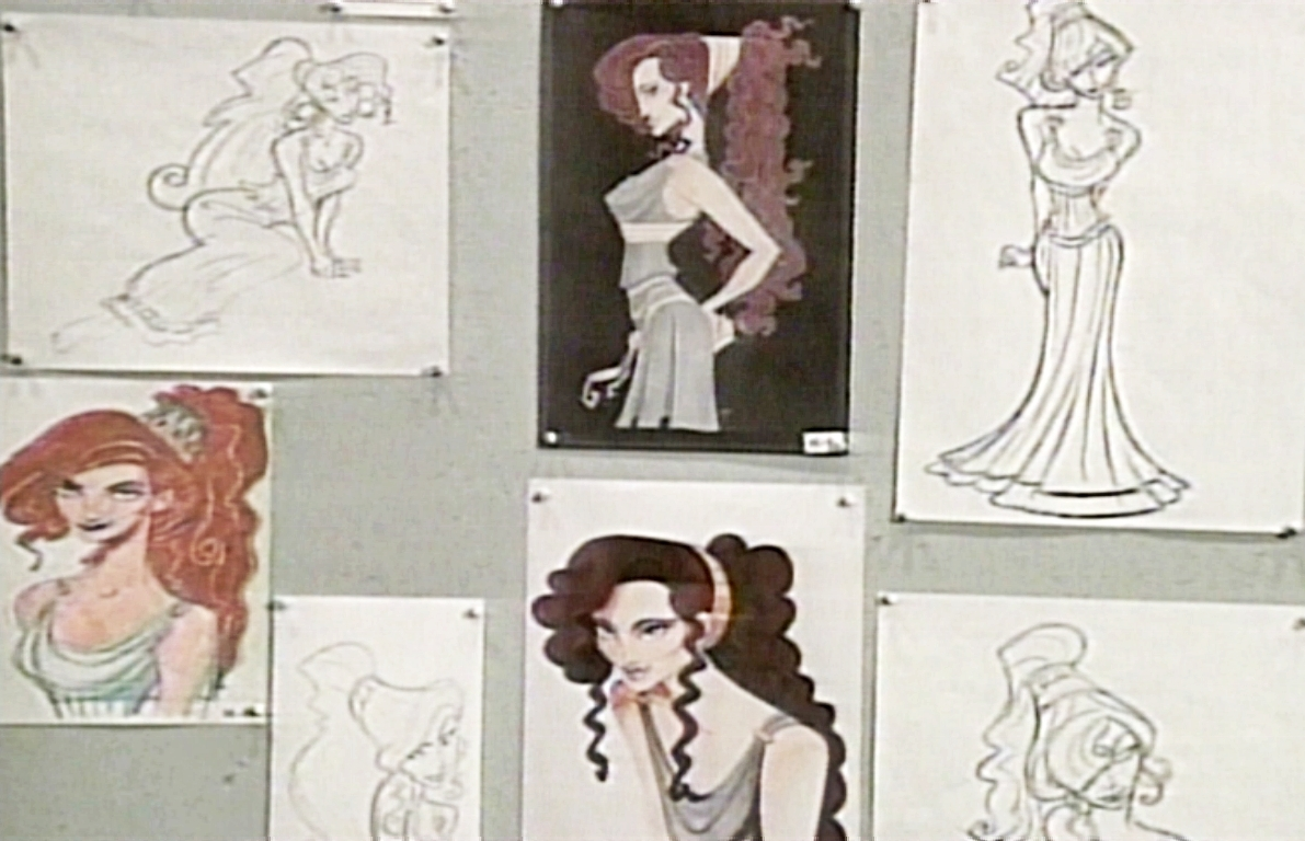 Character Design For Disney : Walt disney character designs megara