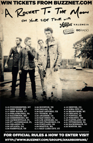 Win Tickets to see Anarbor!