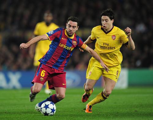 Xavi (Barcelona - Arsenal)